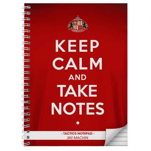 Sunderland Keep Calm A4 Notebook